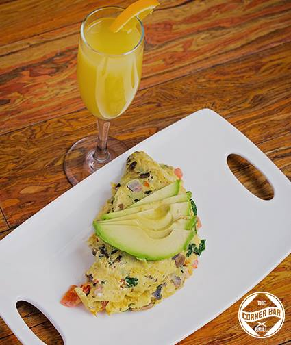 Weekend Brunch at Corner Bar and Grill
