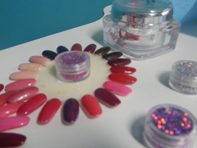 palette di colori per smalto