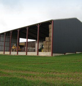 Agricultural buildings - Hereford, Herefordshire - Meyrick & Powell - Stockyards