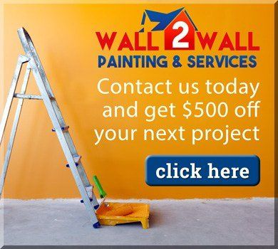 wall 2 wall painting $500 off