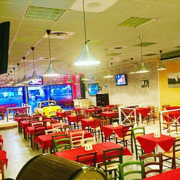 interno della pizzeria