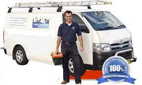 Cooling Specialist with his van