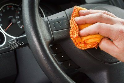 Deep cleaning on vehicle interiors