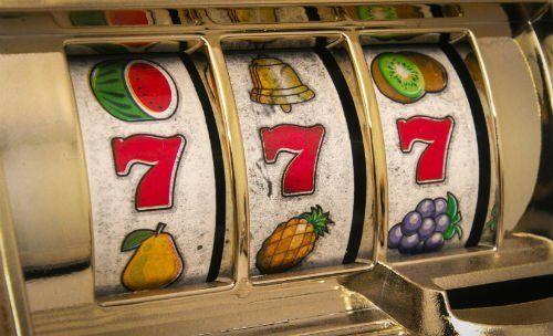 Dettaglio di una slot machine