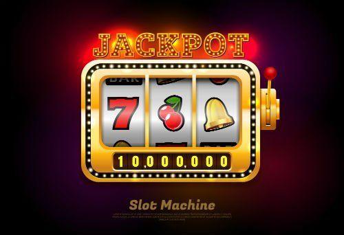 Disegno dello schermo di una slot machine