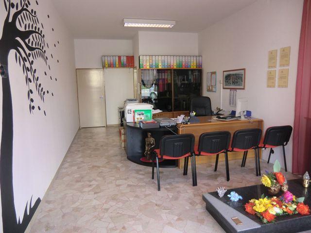 Ufficio moderno dai colori vivaci