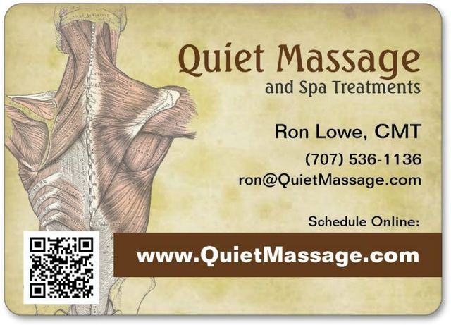 Quiet Massage, warm professional studio - Santa Rosa, CA