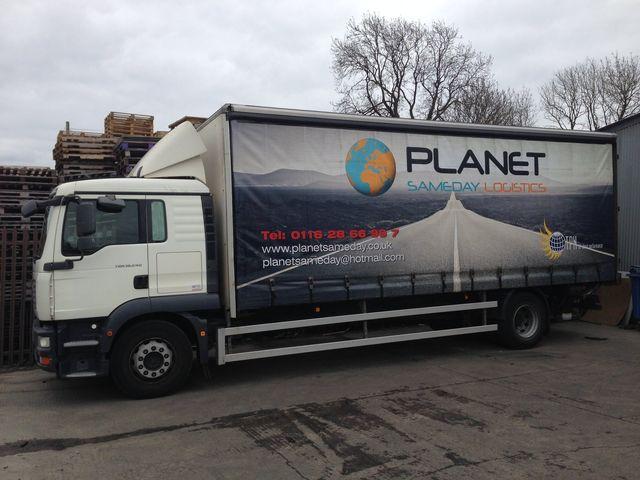 Planet Sameday Logistics Ltd service vehicle