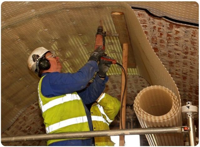 Cellar waterproofing process