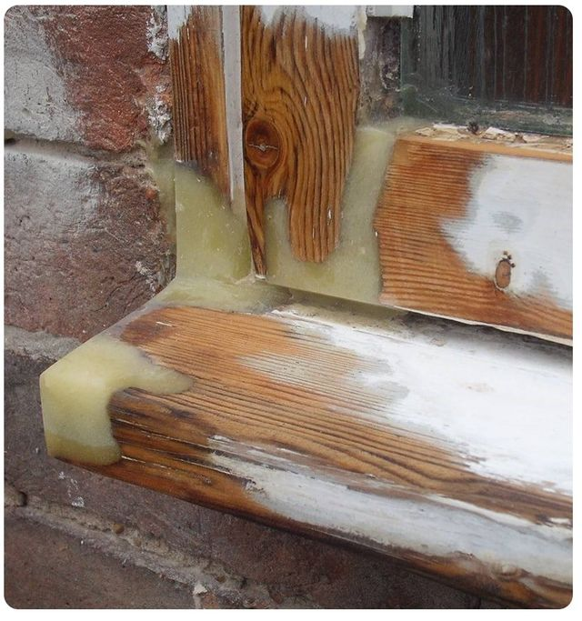 External Timber Resin Repairs