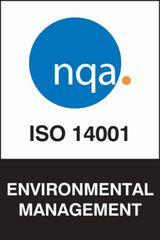 ISO 14001 logo - environmental management
