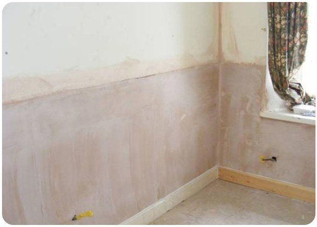plastering wall after damp proofing course