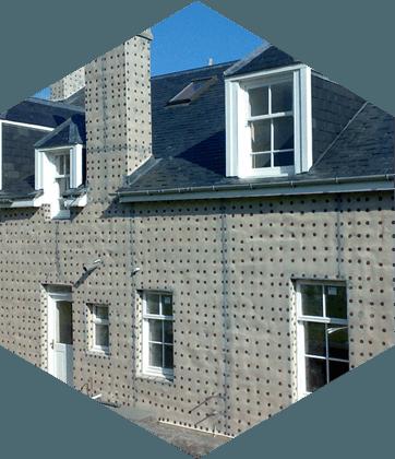 Penetrating damp repair