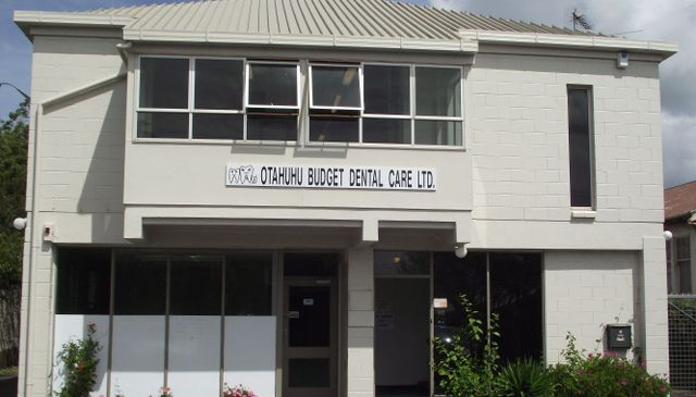 Exterior of the dental practice in Auckland