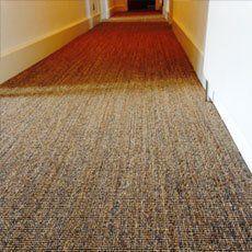 Natural fibre flooring