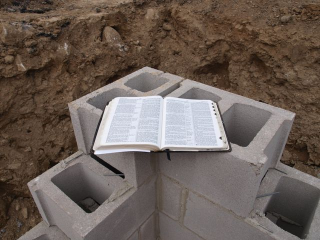 church foundation construction
