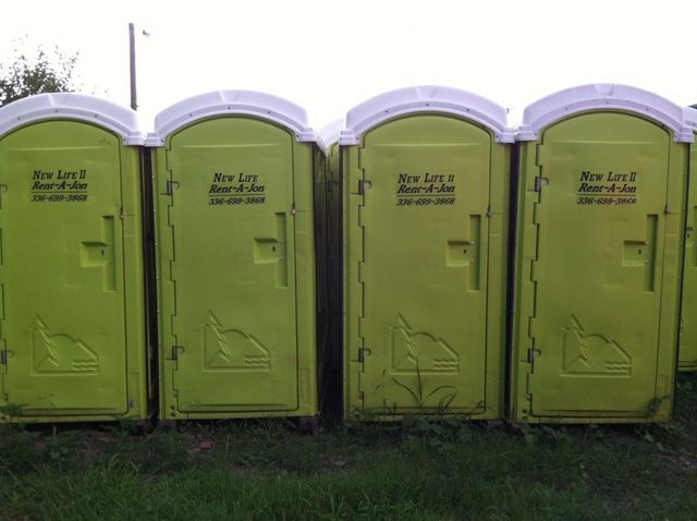 portable toilet rentals | Winston-Salem, North Carolina