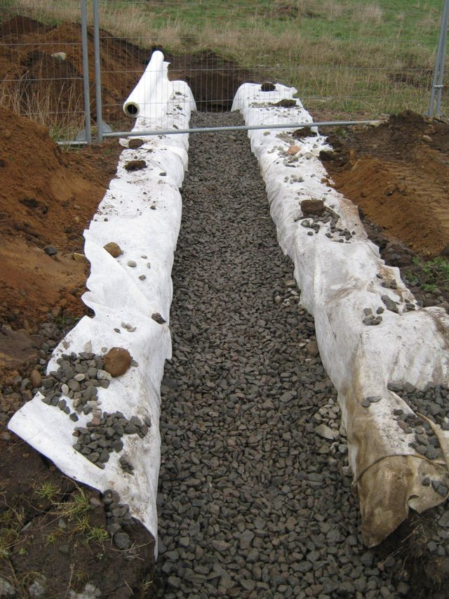 Septic tank and soakaway installation