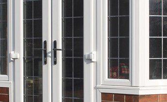 Double glazed patio doors