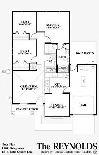 Genesis custom home builders pace fl the reynolds for Genesis custom homes