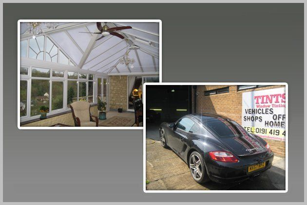 Privacy window film - North East - Tints Window Tinting - glass ceiling