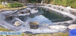 pond liner repairs