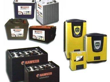 Batterie a marchio Hawker