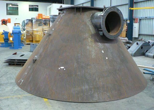 steel silo cone