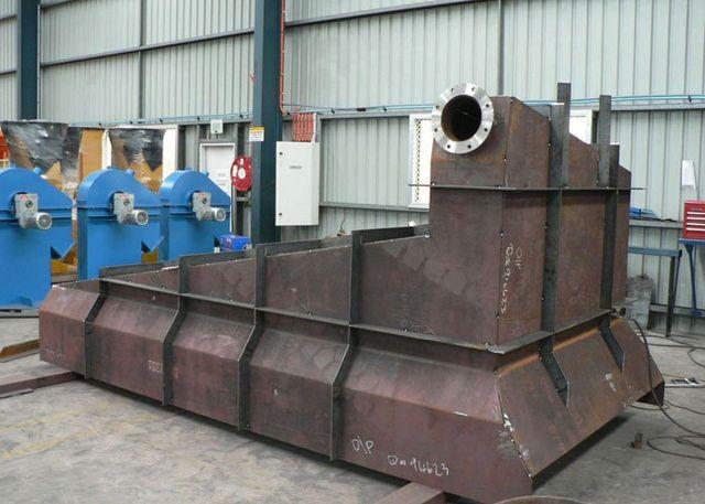 steel launder