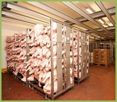 vendita di carni bianche