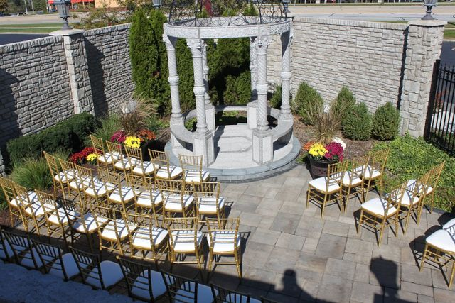 Outdoor Wedding Ceremony ChicagoLand