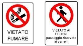 cartelli di divieto