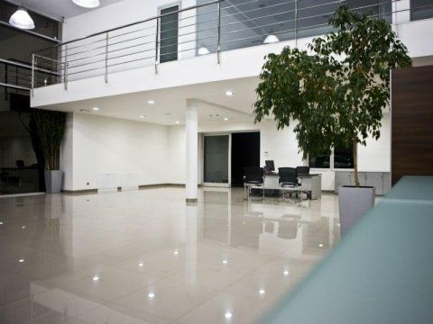 un ufficio pulito
