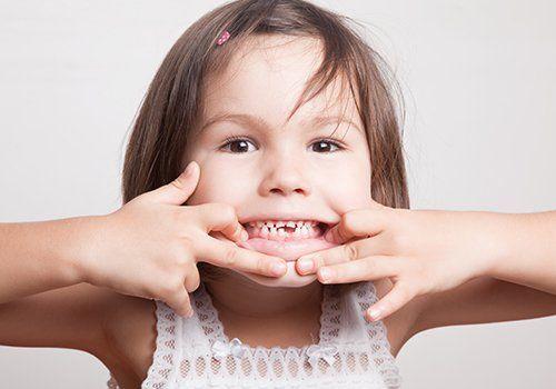 Primo piano di una bocca fresca