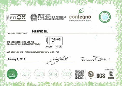 certificato fitok