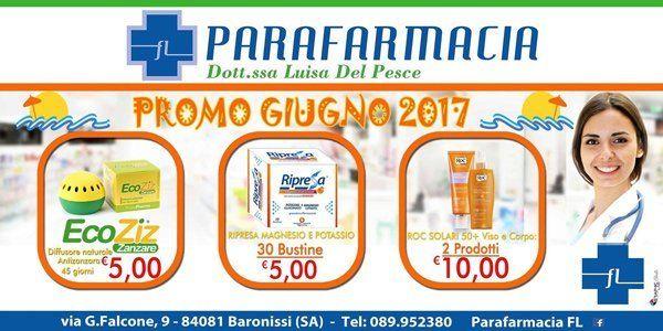 promozioni PARAFARMACIA giugno 2017