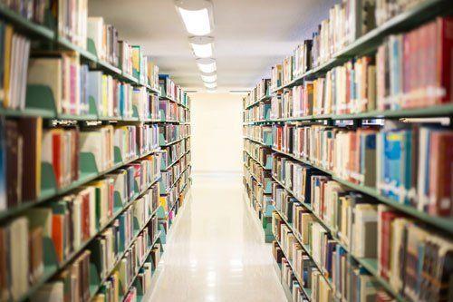 Biblioteca dell'Istituto a Canicattì