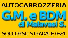 AUTOCARROZZERIA G.M. E BDM - LOGO