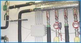 impianto per pompe di calore