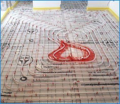 riscaldamento per pavimenti