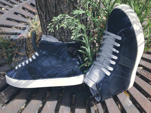 Sneakers blu da uomo