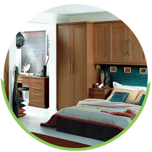 bedroom fitting
