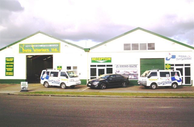 A motor body trimmers shop in Palmerston North