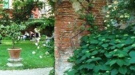 vista di un giardino