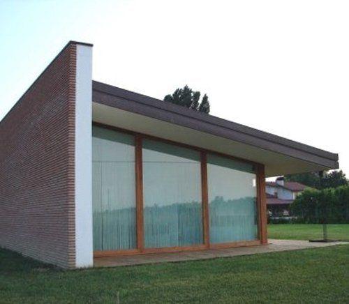 casa moderna alla fine dei lavori di cantieri