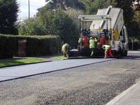 Road work - Cumbria - D Tolson & Sons - Tarmac Services