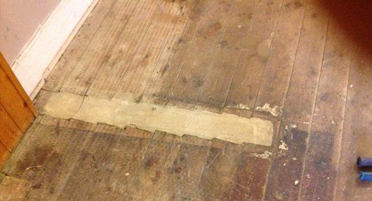 Floor Restoration Can Be Done When There Are: