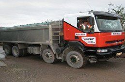 Tipper Haulage specialists