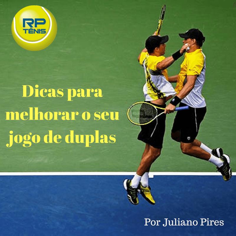 A grande maioria dos tenistas amadores acha que se deve jogar um jogo de  duplas da mesma maneira que se joga um jogo de simples! Puro engano b1746f20368d4
