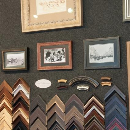 Our wide selection of frames in Ashtabula, OH